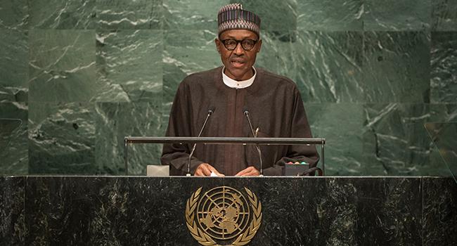 President Muhammadu Buhari at UNGA 71